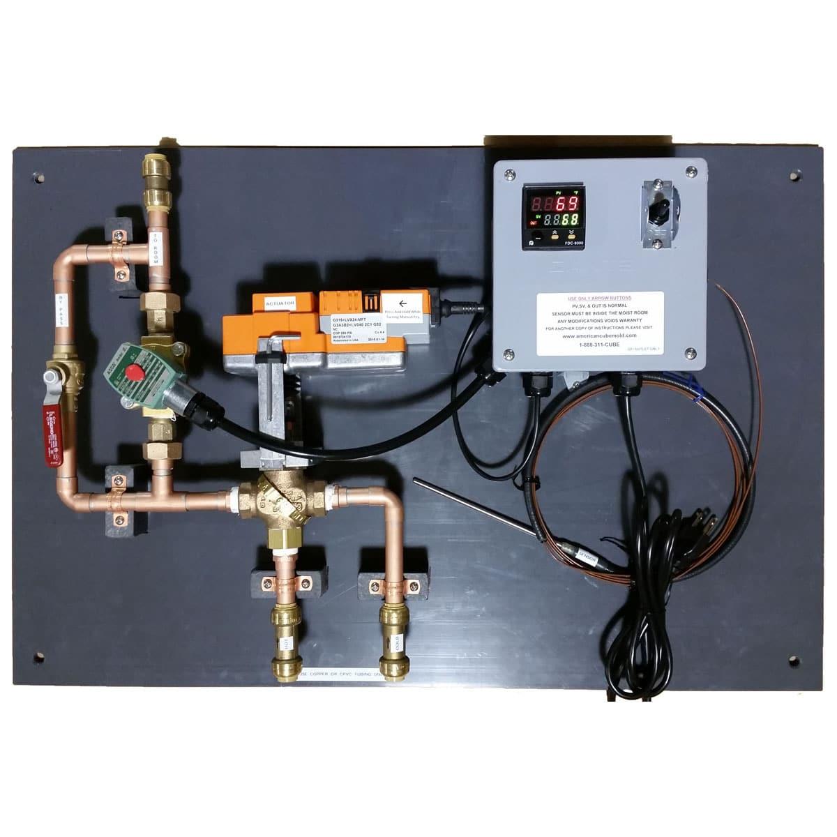 Humidity Control Equipment : Moisture room control system myers associates inc